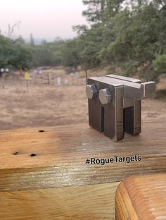 Made from Laser cut domestic AR500 and AR550 these steel target mounts are bullet proof, just drive a common T-Post used on farm fencing slide mount onto top of t-post and hang target, and if you hit the mount it dont matter cause it is made from same material as our steel targets
