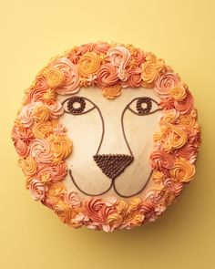 Lion Cake Video Tutorial