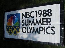 1988 Summer Olympics banner