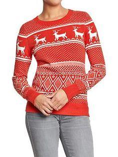 Women's Fair Isle Sweaters | Old Navy