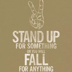 Stand up..!!