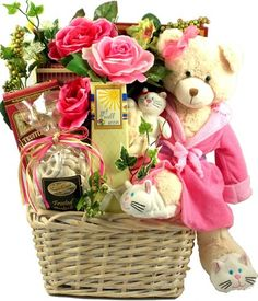 Gift Baskets for Women | Get well gift basket for women and girls.