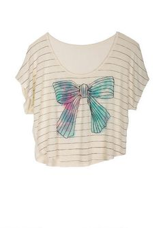 Bow-Mance Tee - View All Graphic Tees - Graphic Tees - dELiA*s