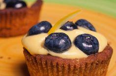 4-Ingredient Lemon Blueberry #Cupcakes