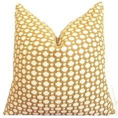 Schumacher Pillow ONE Pillow Cover Taupe Pillow by TrendyNest