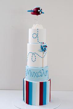 Aeroplane cake by the Cupcake Lady Australia