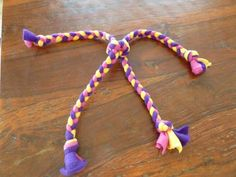 Fleece Dog Toys To Make   33 DIY Dog Toys from Things Around the House   BarkPost