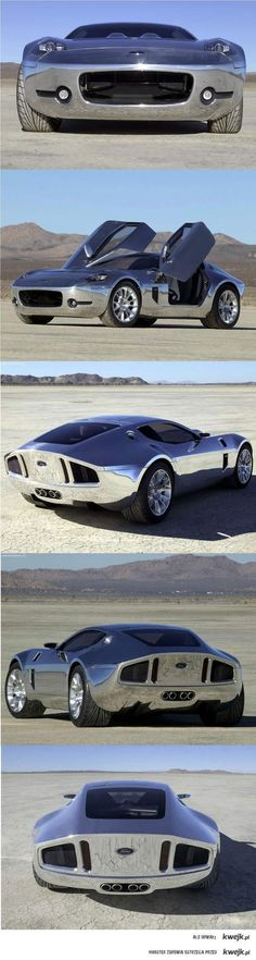 Ford Shelby GR-1 CONCEPT chrome cars, wheel, vehicl, ford motor company, shelbi gr1, auto, concept cars, gr1 concept, ford shelbi