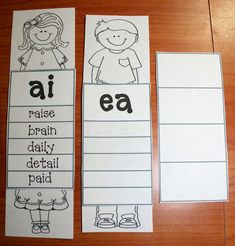 Vowels Go Walking Activities When two vowels go walking- TONS of free activities for long vowelsWhen two vowels go walking- TONS of free activities for long vowels First Grade Phonics, Teaching First Grade, First Grade Classroom, Vowel Activities, Literacy Activities, Free Activities, Literacy Stations, Literacy Centers, Jolly Phonics