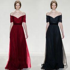 2015 new black red bridal dinner banquet wedding evening dress Long Wedding Dresses in Allymey.com Online Shopping Sites