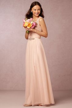 Blush Fleur Dress | BHLDN