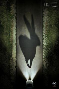 'Les ombres' pour #Opel par Y France