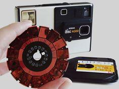 I remember these! Kodak Disc Camera