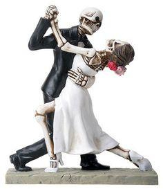 Wedding couple Wedding Cake Topper  Dancing by Highway31one