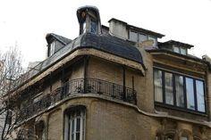 122 Rue Mozart / Villa Flore (16e) - Hôtel Guimard - Art Nouveau - Architecte : Hector Guimard