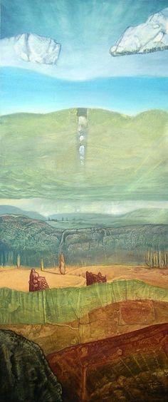 Totemic Landscape by Fladrif.deviantart.com on @DeviantArt