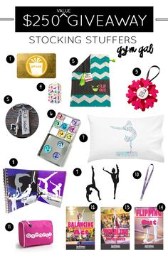 Ultimate Gymnastics Stocking Stuffer Giveaway | Worth over $250