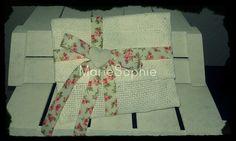 Floral envelope#bonboniera#www.mariesophie.gr