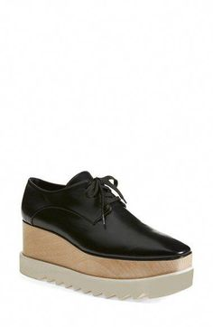 16e33f157d Stella McCartney Platform Oxford (Women) | Nordstrom #PlusSizeoxfordshoes
