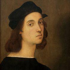 Raffaello, Autoritratto (1504-1506), olio su tavola, 47,5 cm × 33 cm, Galleria degli Uffizi, Firenze