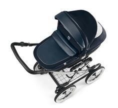Cam Kinderwagen Linea Classy Tris blue by CAMSPA Italy für Baby und Kind, Retro…