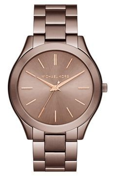 ddd1ad57476 Michael Kors  Slim Runway  Bracelet Watch
