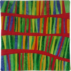 Brenda Gael Smith, Flying Colours: Lorikeet Circus, 12 inches square