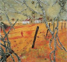 Young bean farmer by Peter Doig.                              …