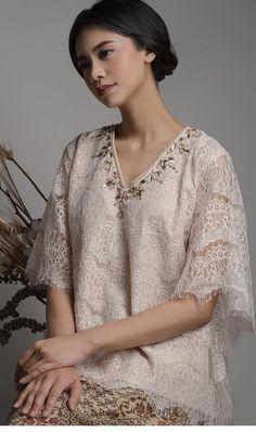Kebaya Lace, Kebaya Hijab, Kebaya Brokat, Batik Kebaya, Kebaya Dress, Blouse Batik, Batik Dress, Lace Dress, Model Kebaya Modern
