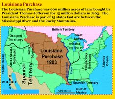 SMART Exchange - USA - Louisiana Purchase and Lewis and Clark