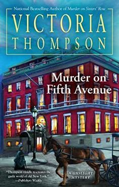 book cover of   Murder on Fifth Avenue