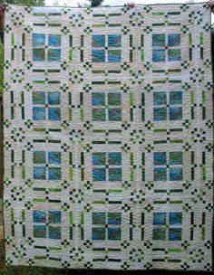 Flowers in My Windows LOTS of free quilt patterns on this site!!