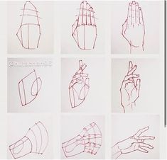 ✔ Drawing Techniques Step By Step Hands Hand Drawing Reference, Art Reference Poses, Anatomy Drawing, Manga Drawing, Anime Hand, Hands Tutorial, Drawing Lessons, Drawing Techniques, Drawing Guide