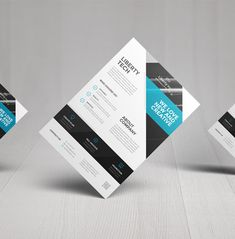 Buy Corporate Flyers by Entersgee on GraphicRiver. Corporate Flyer's Corporate flyer's made in clean and simple style. New Flyer, Corporate Flyer, Business Flyer, Creative Flyer Design, Creative Flyers, Print Design, Web Design, Business Articles, Brochure Design