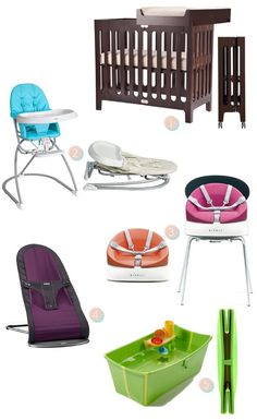Baby Gear for Small Spaces