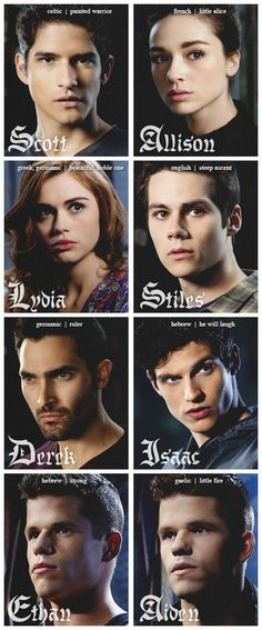 Teen Wolf. Love these people!! Especially isaac