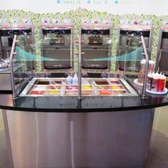 Photo of Cool Bliss Frozen Yogurt - Lynnwood, WA, United States. Fresh Fruit Toppings Bar.
