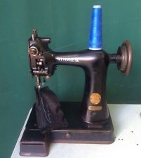 Singer 91 K5 Extra Small Post BED Pique Chain Stitching Glove Sewing Machine | eBay