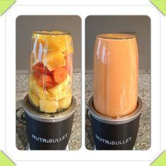Orange Dreamsicle! Oranges, Carrots & Pineapple #NutriBlast #NutriBullet