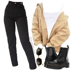 Fitness Outfits For Teens Schools Teen Fashion Outfits, Retro Outfits, Cute Casual Outfits, Grunge Outfits, Look Fashion, Outfits For Teens, Stylish Outfits, Korean Fashion, Vintage Outfits
