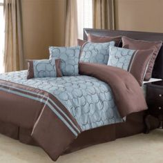 1000 images about blue brown bedroom on pinterest brown for Brown and cream bedroom ideas