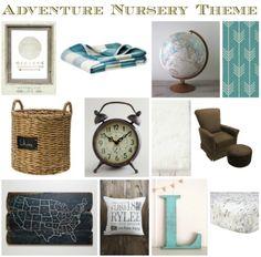 Adventure Nursery Theme | Raising Bell