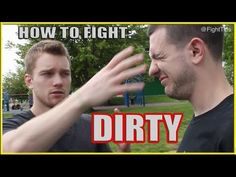 Fighting Dirty: How to Street Fight Dirty Techniques and Tricks Shane Fazen | fighttips.com #streetfight #selfdefence