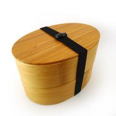 Bamboo Bento Box - Round