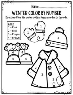Preschool Worksheets - The Keeper of the MemoriesYou can find Preschool printables and more on our website.Preschool Worksheets - The Keeper of the Memories Preschool Colors, Numbers Preschool, Free Preschool, Preschool Themes, Preschool Kindergarten, Preschool Learning, Kindergarten Worksheets, Preschool Activities, Preschool Winter