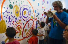 """""""Da sempre mi rifiuto di imporre l'esercizio del bel disegno. Intuito e istinto guidano i bambini nell'atto creativo """" HERVE' TULLET Lasciare la possibilità ai bambini di esprimersi liberamente, se…"""