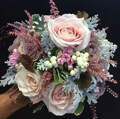 Forever in love with Sweet Avalanche! Bouquet by . Bride Bouquets, Flower Bouquet Wedding, Floral Bouquets, Wedding Flower Inspiration, Wedding Officiant, Flower Boxes, Floral Arrangements, Beautiful Flowers, Wedding Decorations