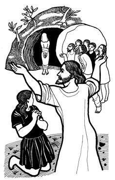 Evangelio según san Juan (11,3-7.17.20-27.33b-45), del domingo, 2 de abril de 2017