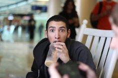 """Another one of James (UberHaxorNova). """"Do you like iced coffee?!""""  I love James!!"""