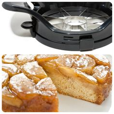 This apple slicer made the cut for the best gadget to bake our Apple Upside-Down Cake